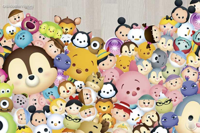 Disney Tsum Tsum Para Colorear Piglet Tusm Tusm: Conoce Disney Tsum Tsum